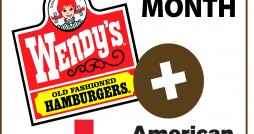 Wendy's + American Red Cross - March Red Cross Month