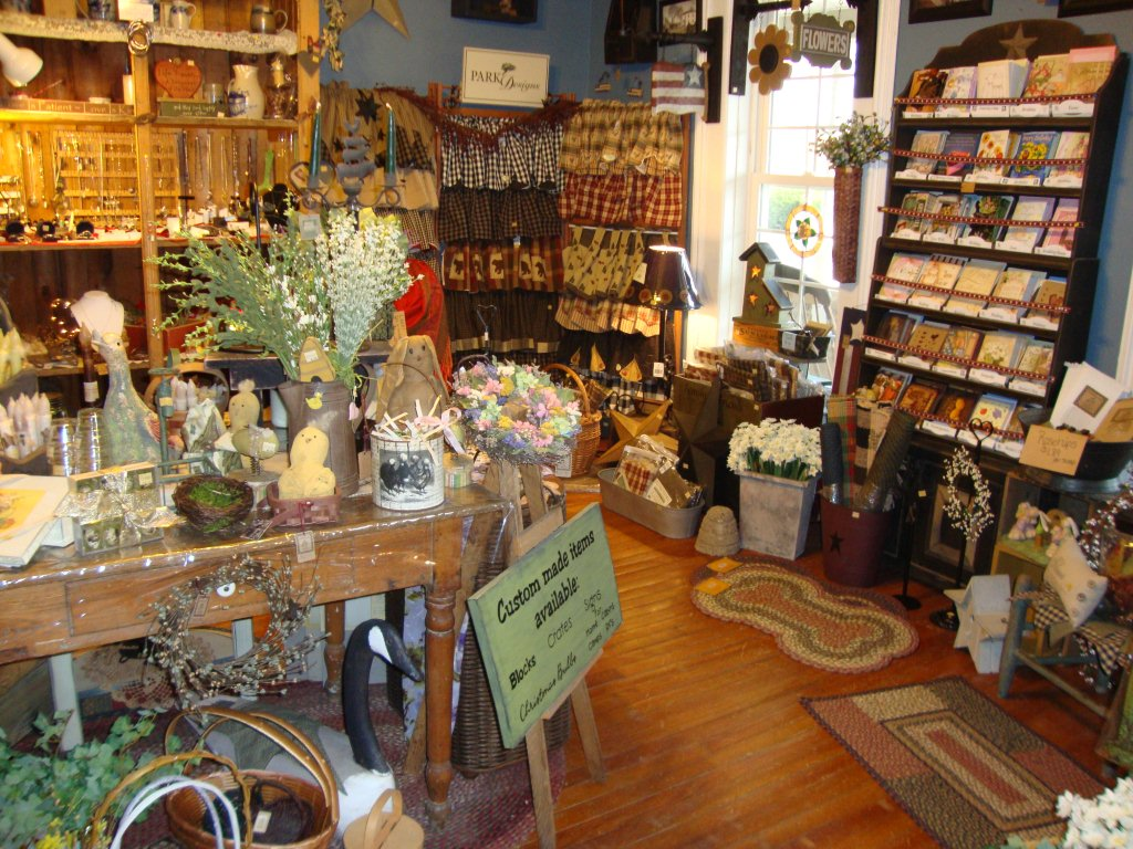Decorating Gift Shop Picadilly Lane Country Amp Primitive Store Ready For