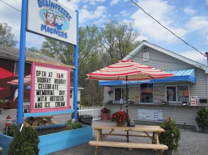 BrainFreeze Madness Ice Cream Shoppe & Hot Dog Shack