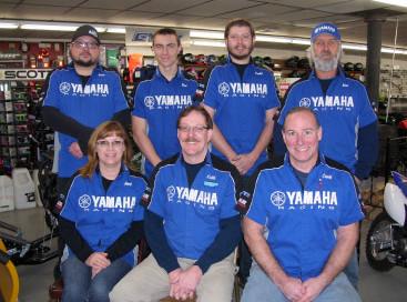 Lane's Yamaha