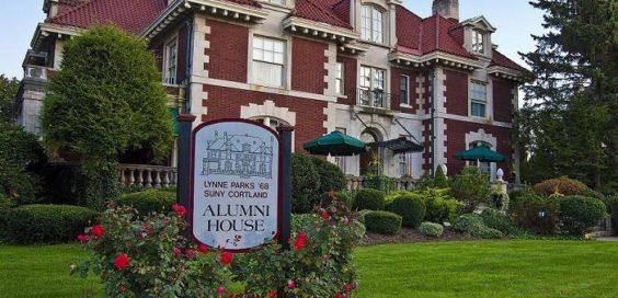 Lynne Parks '68 SUNY Cortland Alumni House