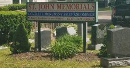 St. John Memorials